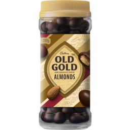 Photo of Cadbury Old Gold Dark Chocolate Coated Almonds 280g