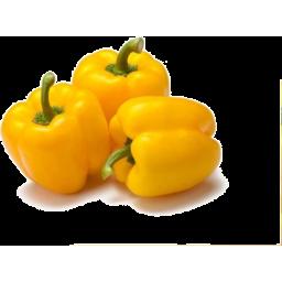Photo of Organic Yellow Capsicum