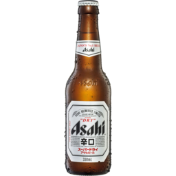 Photo of Asahi Lager Beer Dry 330ml