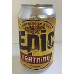 Photo of Epic Lightning Pilsner 330ml