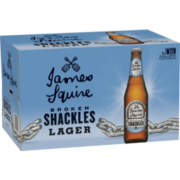 Photo of James Squire Broken Shackles 345ml 24 Pack