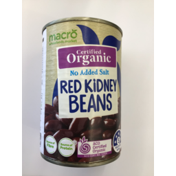 Photo of Macro Organic Beans Red Kidney 425g