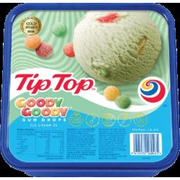 Photo of Tip Top Ice Cream Goody Gum Drop 2L