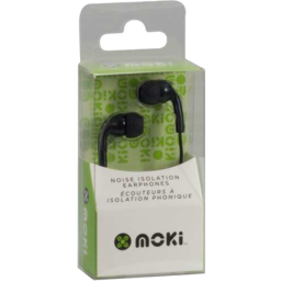 Photo of Moshi Noise Isolation Earphones Black Hcbb