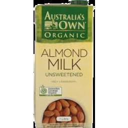 Photo of Australias Own Almond Milk Organic 1lt