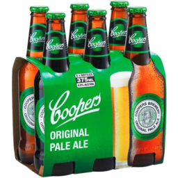 Photo of Coopers Pale Ale Bottles