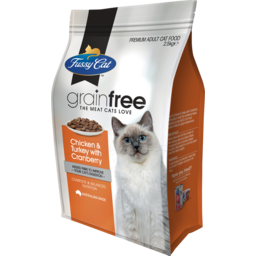 Photo of Fussy Cat Grain Free Chicken And Turkey With Cranberry Dry Cat Food 2.5kg