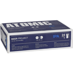 Photo of Atomic IPA Cans Ctn 330ml
