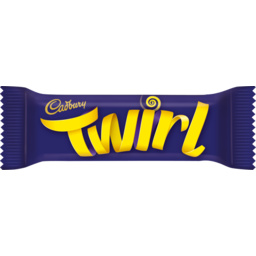 Photo of Cad Choc Twirl K/Size 58gm 58gm