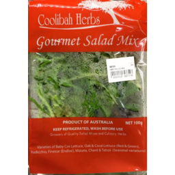 Photo of Coolibah Gourmet Salad Leaves 100gm