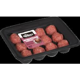 Photo of Hellers Meatballs Angus Beef 420g