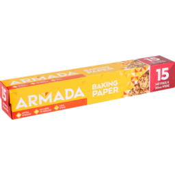 Photo of WW Armada Baking Paper 30x15cm