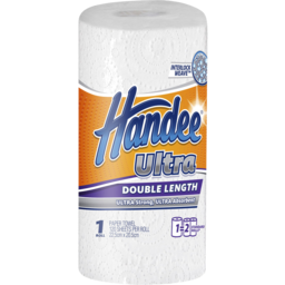 Photo of Handee Double Length White Paper Towels 1 Pack