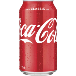Photo of Coca-Cola Classic Soft Drink Can 375ml