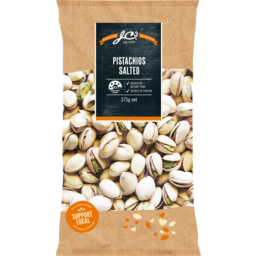Photo of JC's Pistachios Salted Australian 375gm
