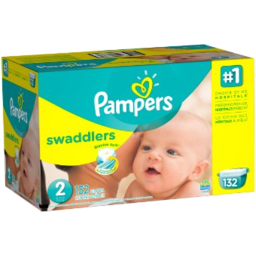 Photo of Pampers Swaddlrs Size 2 Giant