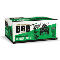 Photo of Boundary Road Brewery Bouncing Czech Pilsner 12 Pack