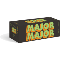 Photo of Major Major Whiskey & Apple 330ml 10 Pack Cans
