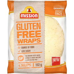Photo of Mission Gluten Free Wraps 232gm