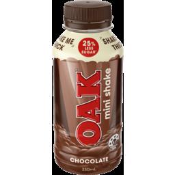Photo of Oak Mini Shake Chocolate Flavoured Milk 250ml