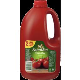 Photo of Fountain® Tomato Sauce 2l
