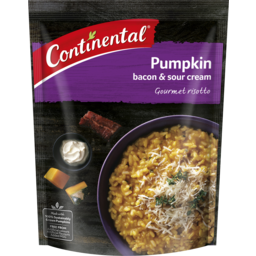 Photo of Continental Risotto Pumpkin, Bacon & Sour Cream 115gm