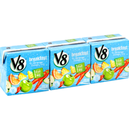 Photo of V8 Fruit Veg Breakfast 250ml 3pk