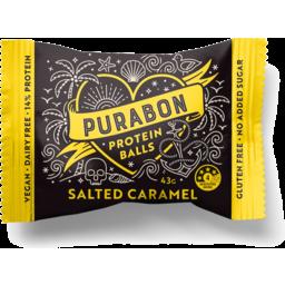 Photo of Purabon Protein Ball Salted Caramel 43gm