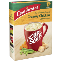 Photo of Continental Cup A Soup Creamy Chicken With Croutons 2 Pack 60g