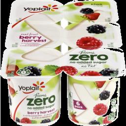 Photo of Yoplait Forme Zero Berry Harvest Yoghurt Multipack 6x160g