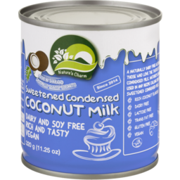 Photo of Nature's Charm Sweetened Condensed Coconut Milk