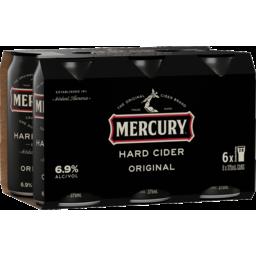 Photo of Mercury Hard Original Cider Cans