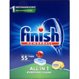 Photo of Finish Tablets All In One Lemon 55 Pack