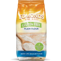 Photo of Edmonds Gluten Free Flour Plain 750g