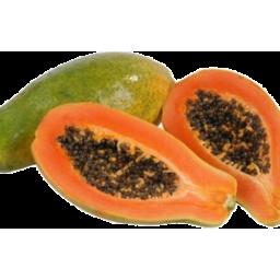 Photo of Papaya Red 1/2 Ea
