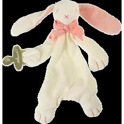 Photo of Maud n Lil Organic Cotton Comforter (Bunny) - Pink/White
