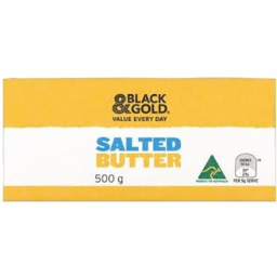 Photo of Black & Gold Salted Butter 500g