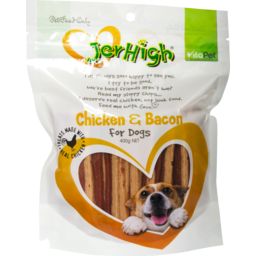 Photo of Vitapet Jerhigh Chicken & Bacon 400g