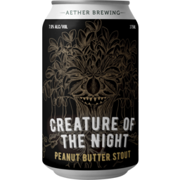 Photo of Aether Creature Of The Night Peanut Butter Stout Cans