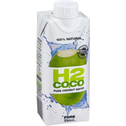 Photo of H20 Pure Coconut Water 330ml