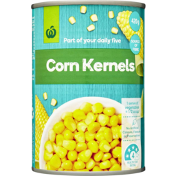 Photo of WW Corn Sweet Kernels 420g