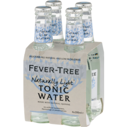 Photo of Fever Tree Light Tonic Water Bottles