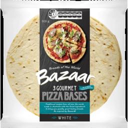 Photo of Bazaar Gourmet Pizza Bases Single Serve 3pk