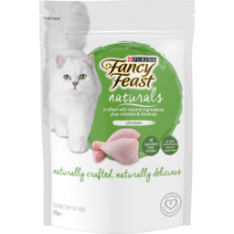 Photo of Purina Fancy Feast Naturals Chicken Gourmet Dry Cat Food 430g