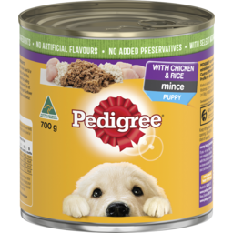 Photo of Pedigree Puppy Original With Chicken & Rice 700g