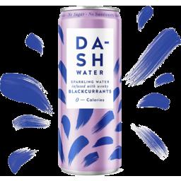 Photo of Dash Sparkling Water Blackcurrant 330ml