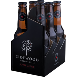 Photo of Sidewood Apple Cider Bottles