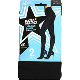 Photo of Razz Opaque Black 60d T/Xt 2pk