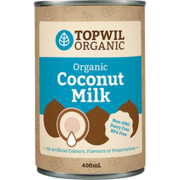 Photo of Topwil Organic Coconut Milk