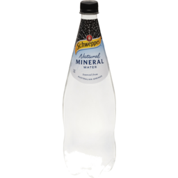 Photo of Schweppes Mineral Water Natural 1.1lt